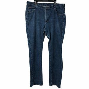 Riders Womens Plus 24W Long Straight Denim Jeans